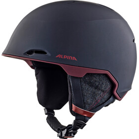 Alpina Maroi Ski Helmet nightblue-bordeaux matt